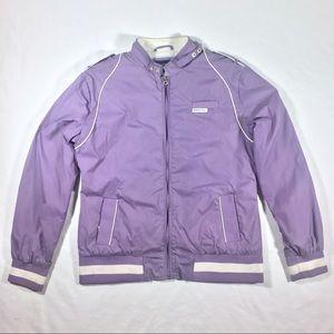 Lavender 80's Retro Member's Only Jacket
